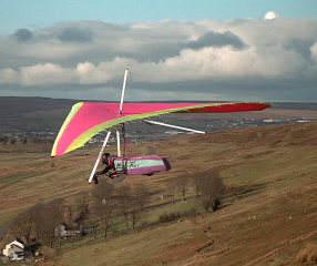 Hang Glider (Courtesy Mike Scholes)