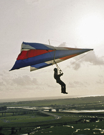 Vintage Hang Glider - photo courtesy Mark Woodhams