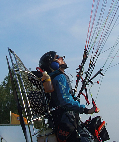 Paramotor (Courtesy Paul Bailey)