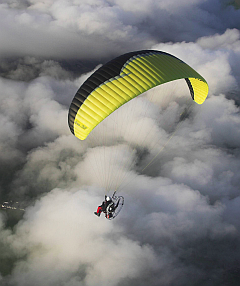 Paramotor (Courtesy Paul Haxby)